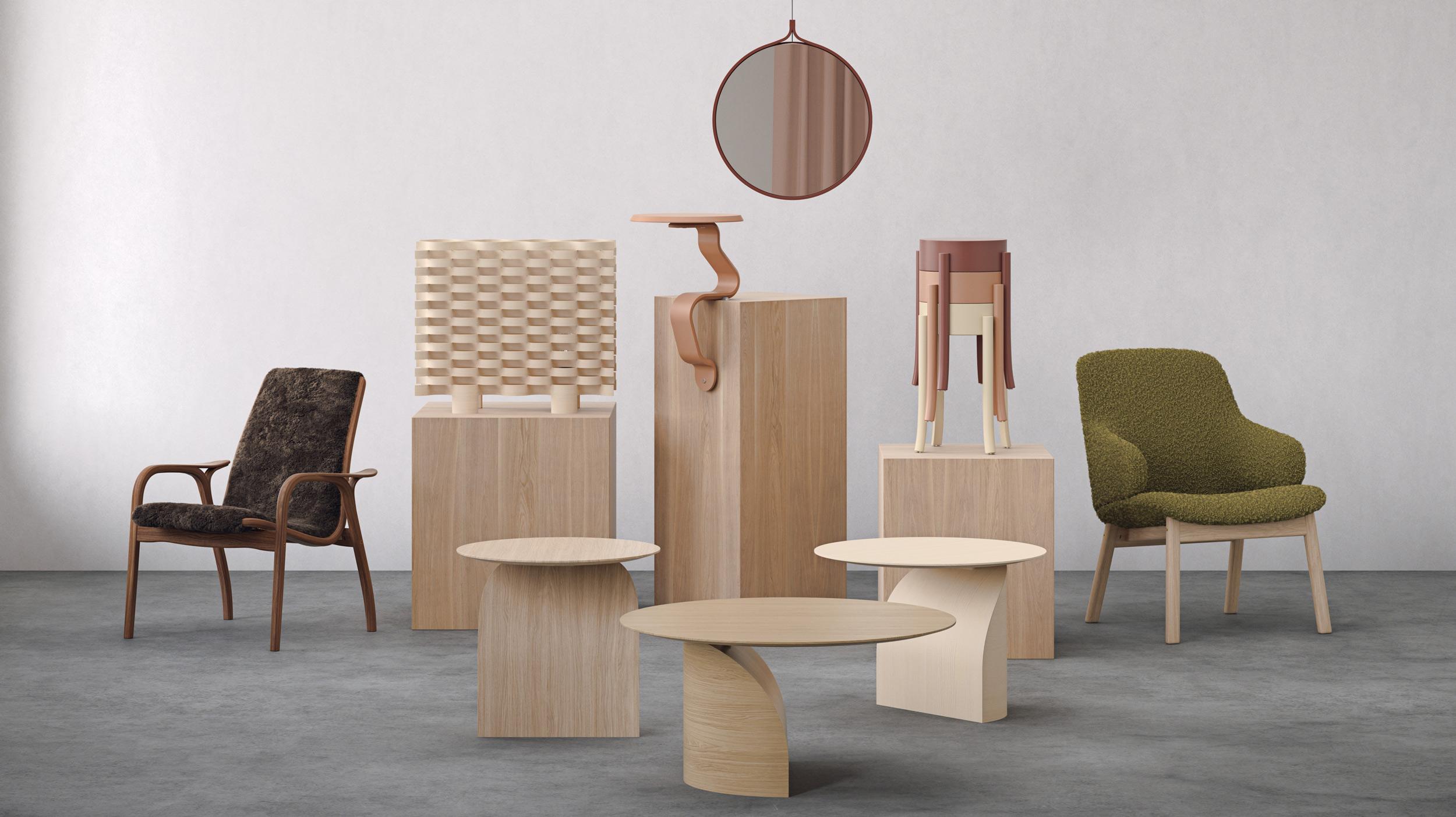 Swedese Collection 2021 är en fint sammanhållen kollektion i en jordig färgskala.